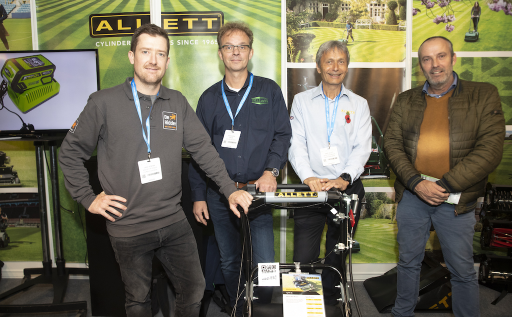 Milati Grass Machines en SALTEX