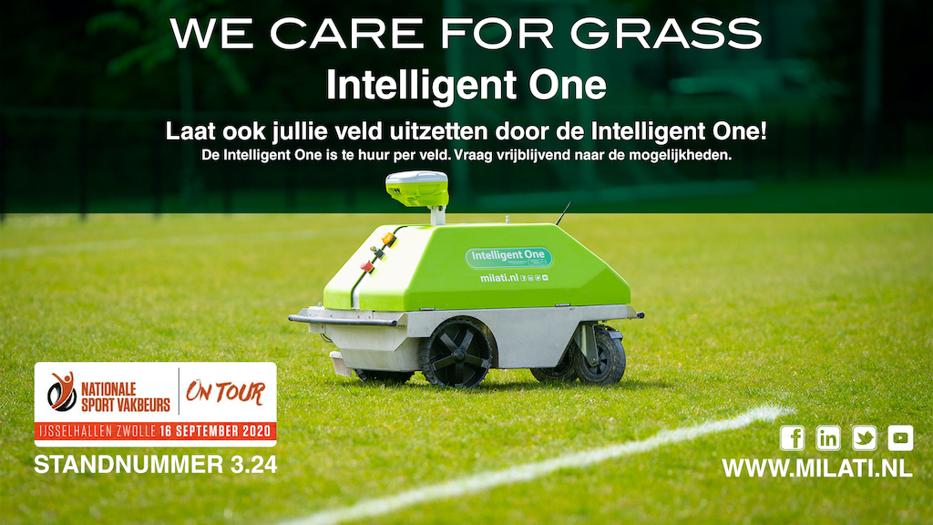 Milati Grass Machines Vakbeurs Sport Accommodaties