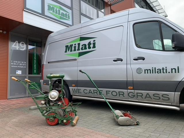 Originele Atco-grasmaaier voor Milatibus