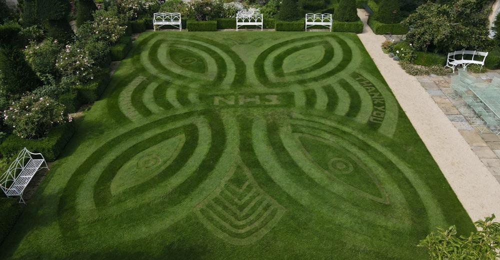 Milati Allett creative lawn stripes competition