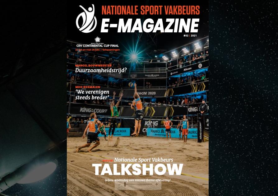Milati artikel in het Nationale Sport Vakbeurs magazine