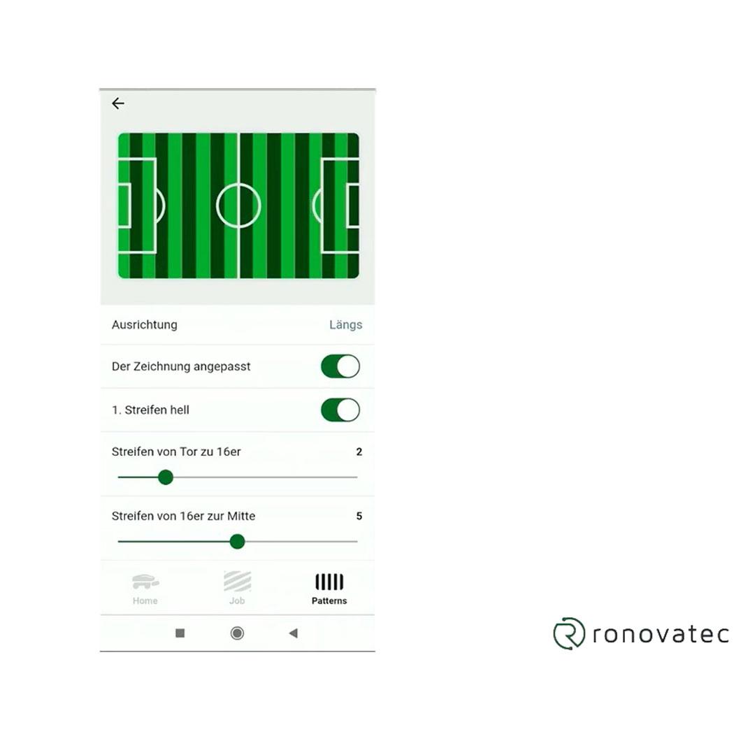 RoviMo bediening via app maairichting